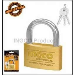 CANDADO BRONCE 30MM INGCO 3 LLAVES DBPL0302