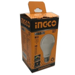 LAMPARA LED 9W E27 LUZ FRIA INGCO  HLBACD291