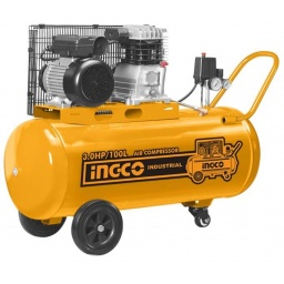 COMPRESOR DE AIRE 100LT 3HP INGCO AC301008