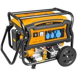 GENERADOR 6.5 KW ARRANQUE MANUAL Y ELECTRICO INGCO GE65006