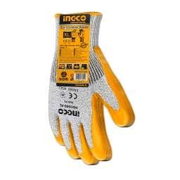 GUANTES AMARILLO RESISTENTE A CORTES HGCG08-XL INGCO  TALLE XL