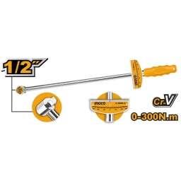 TORCOMETRO 1/2 300NM CR-V INGCO HPTW300N1