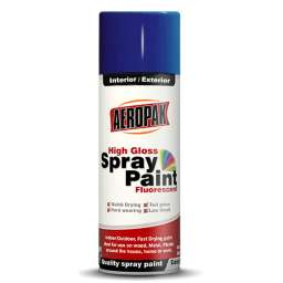 PINTURA SPRAY AEROSOL AEROPAK AZUL INTENSO BRILLANTE #219 285G/400ML