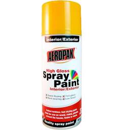 PINTURA SPRAY AEROSOL AEROPAK AMARILLO MEDIO #25 285G/400ML
