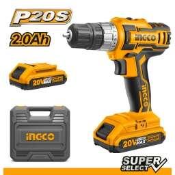 ATORNILLADOR 20V P20S SUPER SELECT INGCO CDLI200215