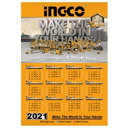 CALENDARIO DE PARED INGCO PROMOCIONAL PMWC01