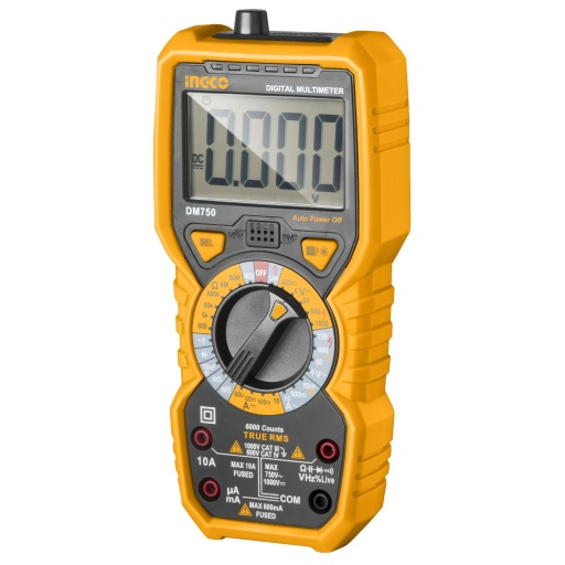 TESTER DIGITAL DM750 INGCO