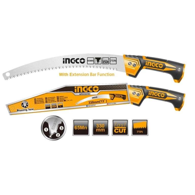 SIERRA DE PODA 330MM INGCO HPS33028C