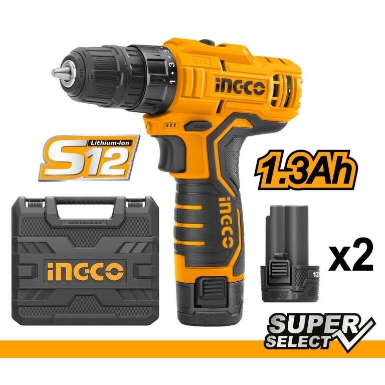 ATORNILLADOR 12V S12 SUPER SELECT INGCO CDLI12325