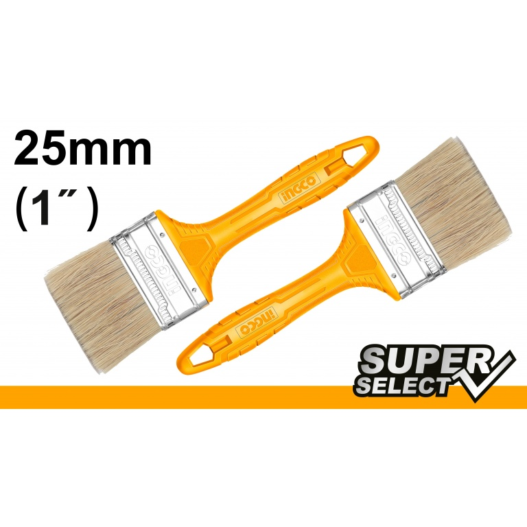 PINCEL 1 MANGO AMARILLO SUPER SELECT INGCO CHPTB78601