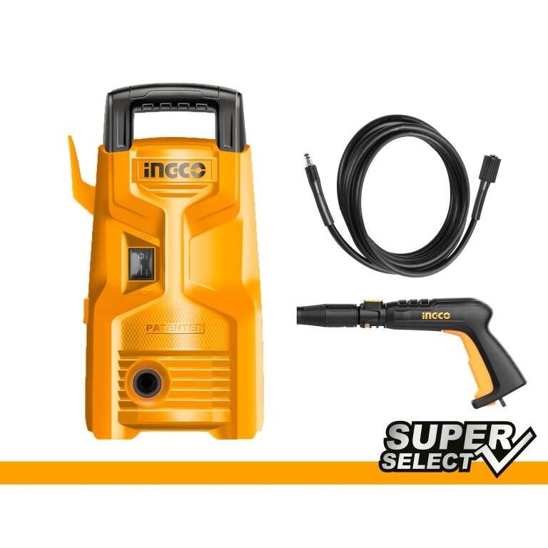 HIDROLAVADORA 90BAR SUPER SELECT INGCO HPWR12008