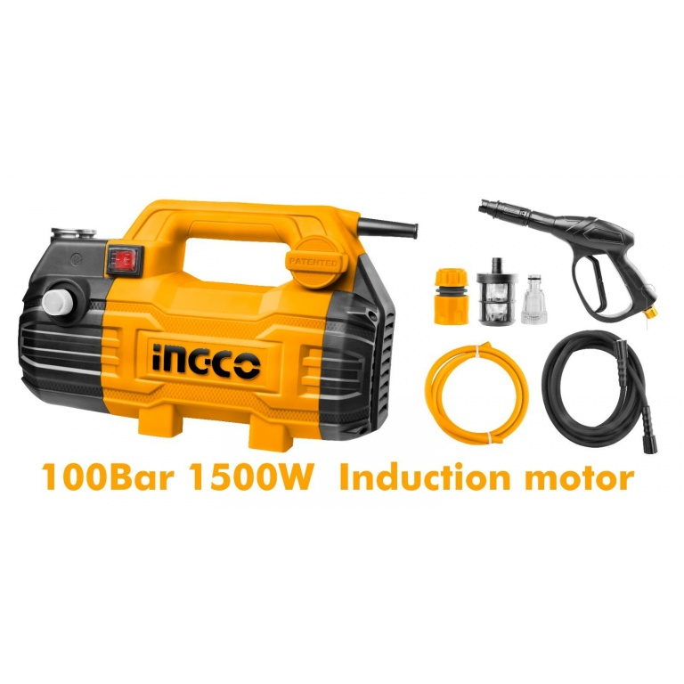 HIDROLAVADORA 100 BAR INDUCCION INGCO HPWR15028