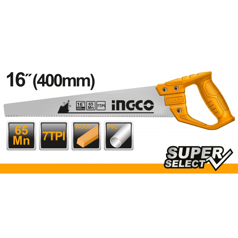 SERRUCHO 400MM SUPER SELECT HHAS48400 INGCO