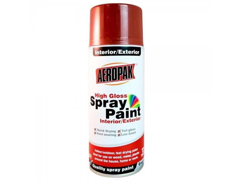 PINTURA SPRAY AEROSOL AEROPAK ANTIOXIDO #142 285G/400ML